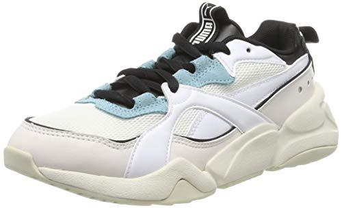 Puma Nova 2 Wn's, Sneaker Donna, Bianco White/L Parchment 03, 42.5 EU