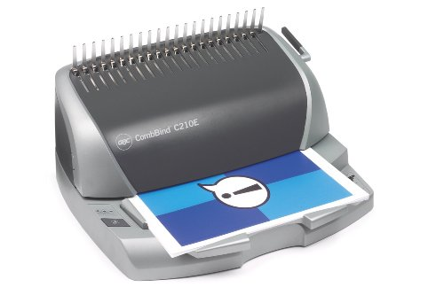 Deals For GBC CombBind C210E Comb Binding Machine with Electric Punch (Punch Capacity 20 Sheets, Bind Capacity 330 Sheets) Review