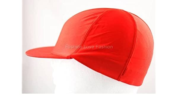 8fc7bbc6ddb King. J Spandex Visor Dome Cap - Red  203 by King J  Amazon.in  Beauty