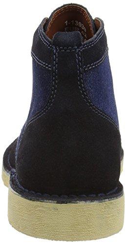 Kickers  Legendry Boot Sued Am Dk Blue, Bottes Classiques homme Bleu - Bleu (Bleu)