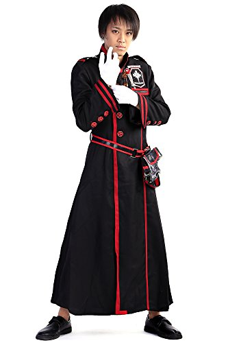 De-Cos D.Gray-Man Cosplay Custome Bakanda Kanda Yu Exorcist Uniform Set (Kostüm Yu Cosplay Kanda)