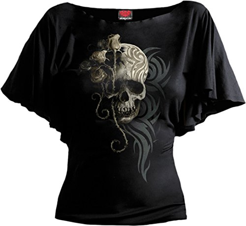 Spiral -  T-shirt - Donna Black Medium