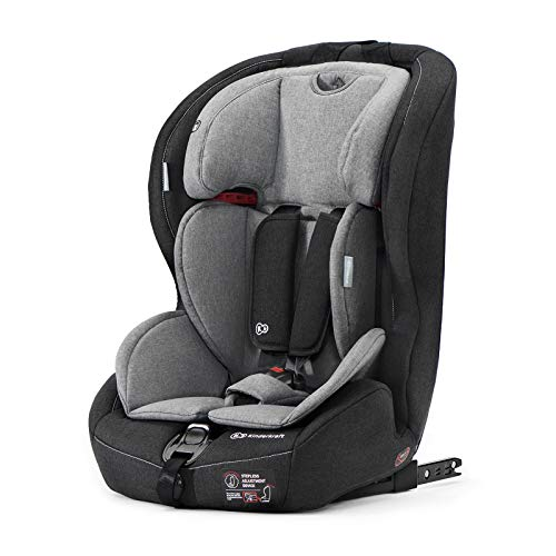 Kinderkraft Siège Auto Isofix SAFETY-FIX, Groupe 1/2/3, De 9 à 36 kg, Gris