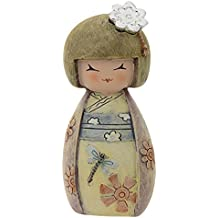 PROFUMATORE KOKESHI - PORTAFORTUNA - KENTA SALUTE E FORZA - COLORATA - H CM 10 CON SCATOLA E FRAGRANZA MADE IN ITALY