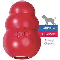 KONG - Classic - Juguete de resistente caucho natural - Para morder, perseguir o buscar - Raza M