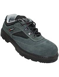 Safeman - Cuir Vert Chaussures De Protection Pour L'homme PaEXi