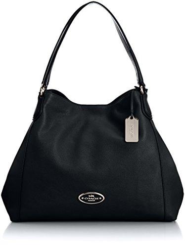 coach-edie-sac-bandoulire-femme-noir-schwarz-black-15x25x35-cm-b-x-h-x-t