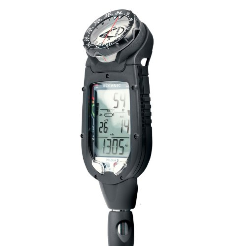 Oceanic Datamax Pro Plus 3.0 Air / Nitrox Integrated Computer With Compass and Quick Disconnect Complete with Download Kit - Nitrox Air