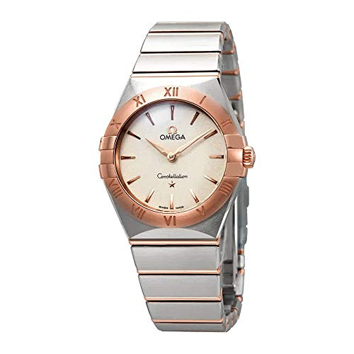 Omega Constellation Manhattan White Silververy Dial 131.20.28.60.02.001 - Orologio da donna