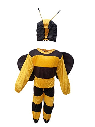 KFD Honey Bee fancy dress for kids,Insect Costume for School Annual function/Theme Party/Competition/Stage Shows Dress