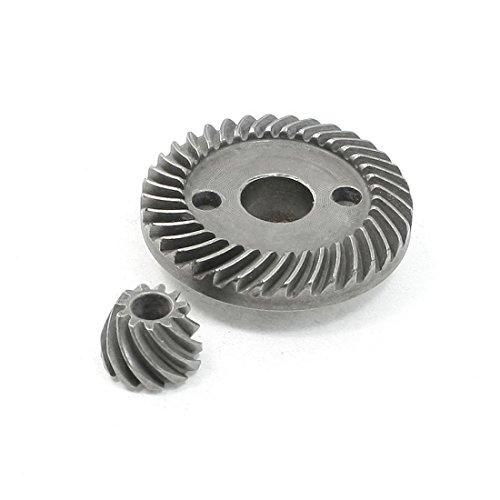 DealMux Reparatur-Teil Spiral Kegelradritzels Set für RYOBI 100 Winkelschleifer (Teile, Ryobi)
