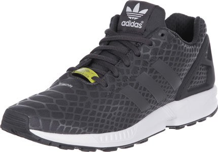 adidas ZX Flux Techfit, Baskets Basses Homme Noir