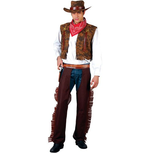 WESTERN COWBOY ADULT COSTUME FANCY DRESS UP PARTY (Western-dress Up Ideen)