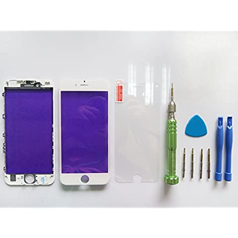 Front Glass Outer Lens Touch Screen Cover With Frame Bezel für Apple iPhone 6S 4.7