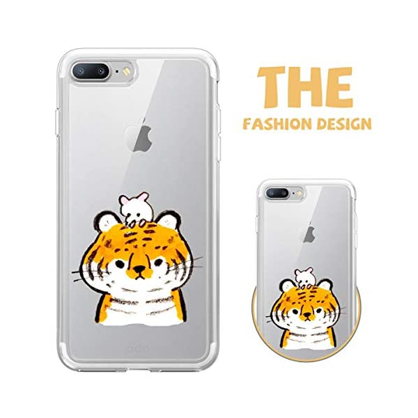 Oihxse Case Compatible with iPhone 5/5S/SE 4 inch Clear with Chic Design, Soft TPU Silicone Ultra Thin Slim Fit [Shockproof] [Anti-fingerprint] Crystal Transparent Case Cover Bumper Skin, Tiger Oihxse ✨【SLIM FIT】ONLY compatible with iPhone 5/5S/SE without bubbles, bubbles smudges, slippy and clinging, which provide a great hand feel & comfortable grip, easy put in and take off from pockets. ✨【CRYSTAL CLEAR】Cute and stylish pattern prints on the crystal transparent slim IPhone 5/5S/SE case, not only shows off the original beauty but adds more chic, fashion and elegant sense, makes you stand out from crowd and eye-catching. ✨【PREMIUM MATERIAL】Made from nontoxic and tasteless flexible TPU material, non fade and peel off. It can resist Iphone 5/5S/SE bumps, drops, scratches, impacts, shocks and fingerprint. 4