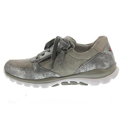 Shoe 86 Fantastic Grau Argento 968 Trainer Gabor 5z0UxPR