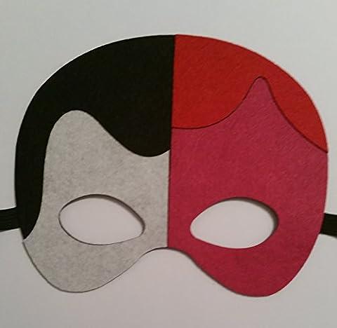Superhero Superhelden und Villains Filz Maske Thor, Two Face Faces Wolverine Catwoman und der Joker Fancy Kleid für Mädchen und (Kinder Catwoman-kostüm)