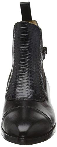 Melvin & Hamilton Damen Jessy 10 Chelsea Boots Schwarz (Crust Black/Guana Black/Ela.Black/hRS)