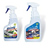 BLUEOXY 500 ml Kitchen Cleaner and Degreaser with Foam Action and 500 ml