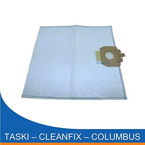 20 Staubsaugerbeutel für Cleanfix S10, S10 Plus, S 10 Plus Hepa aus Microflies