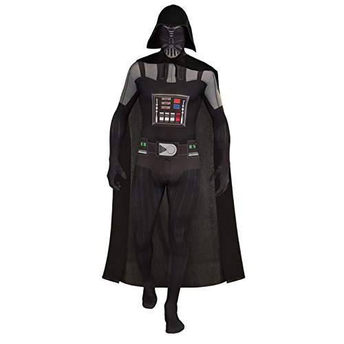 NEU Herren-Kostüm 2nd Skin Darth Vader, Gr. XL