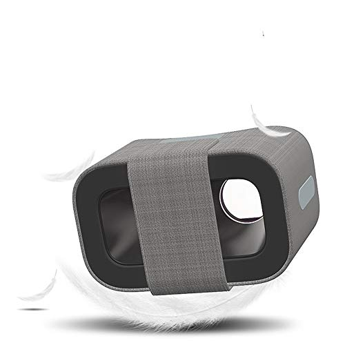 ILYO Tragbare Virtual-Reality-3D-Brille mit 140 ° FOV, multidirektionalem Belüftungsdesign für den praktischen, kühlenden Adapter für EIN Mobiltelefon mit 4,7 bis 6,0 Zoll