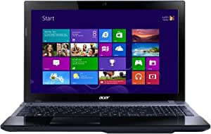 ACER ASPIRE V3-571 15.6-INCH LAPTOP BLACK (INTEL CORE i3 3110M 2.4GHz, 6GB RAM, 500GB HDD, DVDSM, DL LAN, WLAN, BT, WEBCAM, INTEGRATED GRAPHICS, WINDOWS 8 64-BIT)