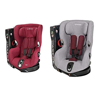 Maxi-Cosi Axiss, drehbarer Kindersitz, Gruppe 1 Autositz (9-18 kg), nutzbar ab 9 Monate bis 4 Jahre, verschiedene Farben und Zubehör