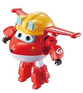 Super Wings Alpha Animation Build-it Buddies - Jett - Figura transformable