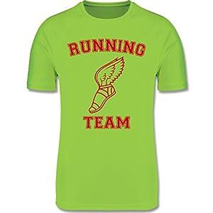 Sport Kind – Running Team Hermes – atmungsaktives Laufshirt/Funktionsshirt für Mädchen und Jungen