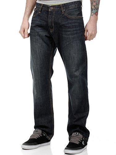 Jeans Quiksilver Buster Dark Vintage Dark (28 Vita = Eu 42 , Blu)