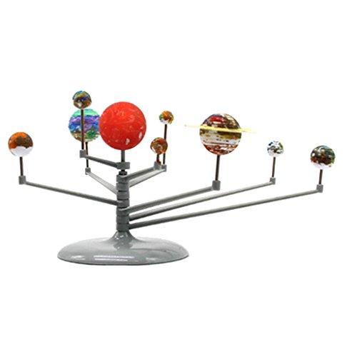 FLAMEER DIY Sonnensystem Planetarium Modell Bausatz, 15-teilig