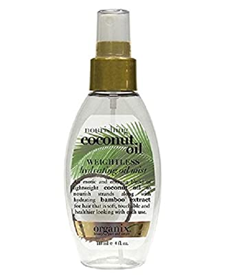 OGX Nourishing with Coconut Oil Weightless Hydrating Mist, 118 ml by Vogue International