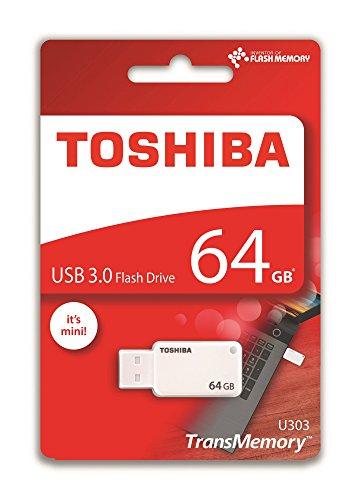 Toshiba THN-U303W0640E4 - Memoria USB 3.0 DE 64 GB