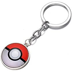 Pokemon Go Keyring Pokeball Keychain by Yawning Monkey