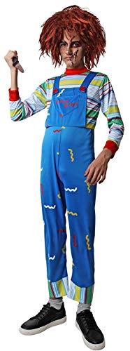 Costumizate! Disfraz Muñeco Asesino niños Talla