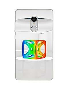 Mikzy Premium Quality Printed Designer Back Cover Case for Xiaomi Redmi Note 4 (Multicolour)