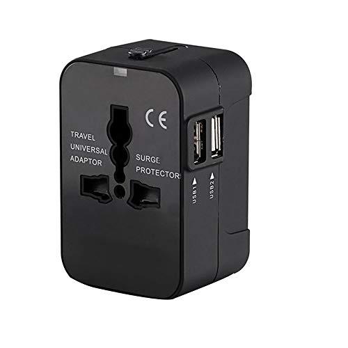 Global Universal Conversion Plug 2USB Fast Charging Multifunktionale Travel Power Converter Adapter Für 160 Länder Wie Europa, Großbritannien Und Japan