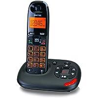 Switel Telefono Senza Fili Per Anziani Vita DCT 50071 Segreteria Telefonica (Versione/Voce Tedesca), Auricolare,