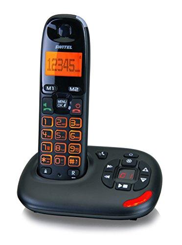 Switel Telefono Senza Fili Per Anziani Vita Dct 50071...
