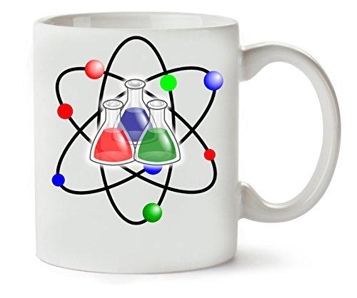 C+P Chemistry Atoms Klassische Teetasse Kaffeetasse