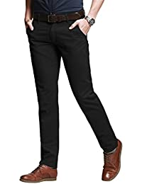 Match Men's Slim Stretchy Casual Trousers#8050