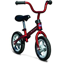 Chicco First Bike - Bicicleta sin pedales con sillín regulable, color rojo