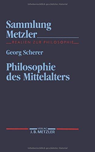 Philosophie des Mittelalters (Sammlung Metzler)