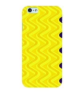 PrintVisa Spiral Pattern 3D Hard Polycarbonate Designer Back Case Cover for Apple iPhone 6S