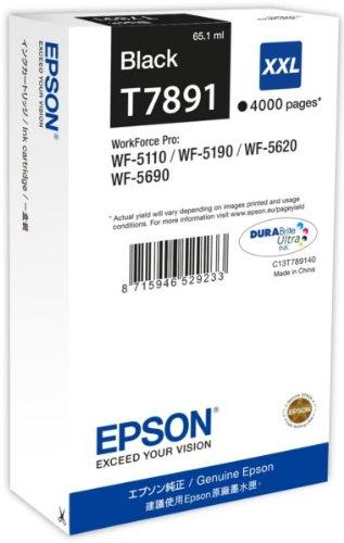Preisvergleich Produktbild Epson Original T7891 Tinte, Singlepack schwarz, Extra hohe Kapazität
