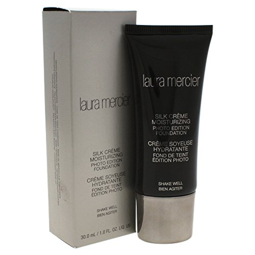Laura Mercier CLM09206 Silk Crème Moisturizing Photo Edition Foundation, 1er Pack (1 x 30 ml) -