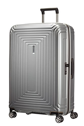 Samsonite - Neopulse Spinner 75 cm, Plateado (METALLIC SILVER)