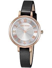 Park Avenue Mujer Reloj–Petite–Rotgold/Negro