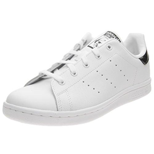 adidas Stan Smith C, Chaussures de Gymnastique Mixte enfant Blanc Cassé (Ftwr White/ftwr White/core Black)